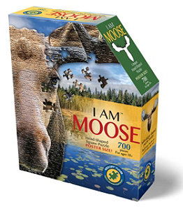 Poster Size Moose Puzzle, 700 Pieces
