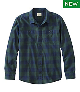 Men's Wicked Soft Flannel Shirt, Slightly Fitted Untucked Fit