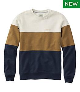 Men's L.L.Bean 1912 Sweatshirt, Crewneck, Colorblock