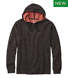 Men's Washed Cotton Double-Knit Shirts, Hoodie