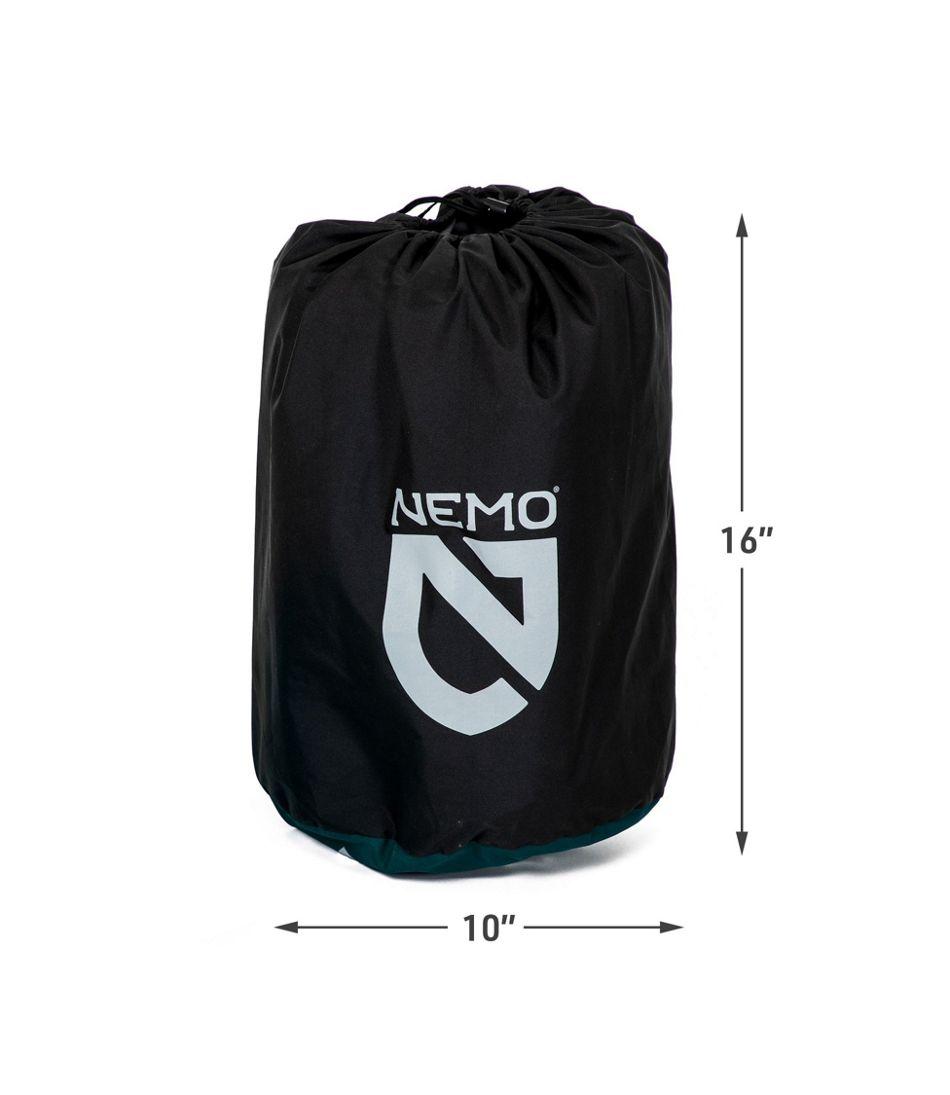Nemo Roamer Self-Inflating Sleeping Pad, Double