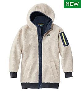 Kids' Sherpa Fleece Long Coat