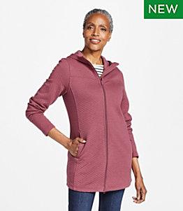 Women's SoftLight Quilted Top, Full-Zip Tunic
