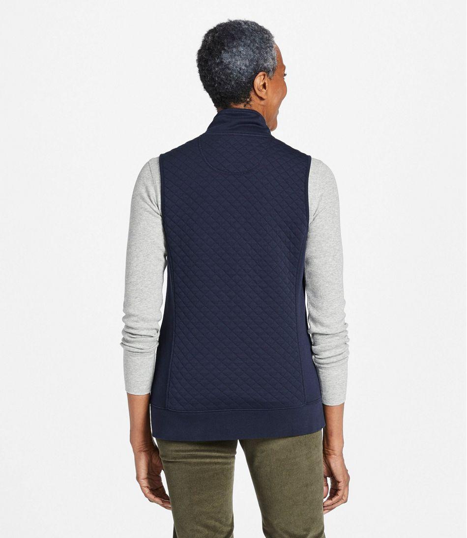 Women's Quilted Sweatshirt, Vest