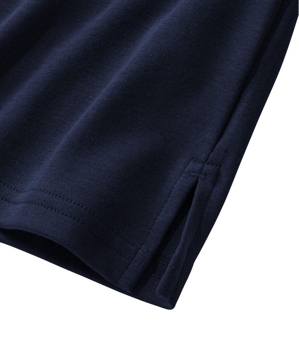 Women's Pima Cotton Tee, Long-Sleeve Squareneck Tunic