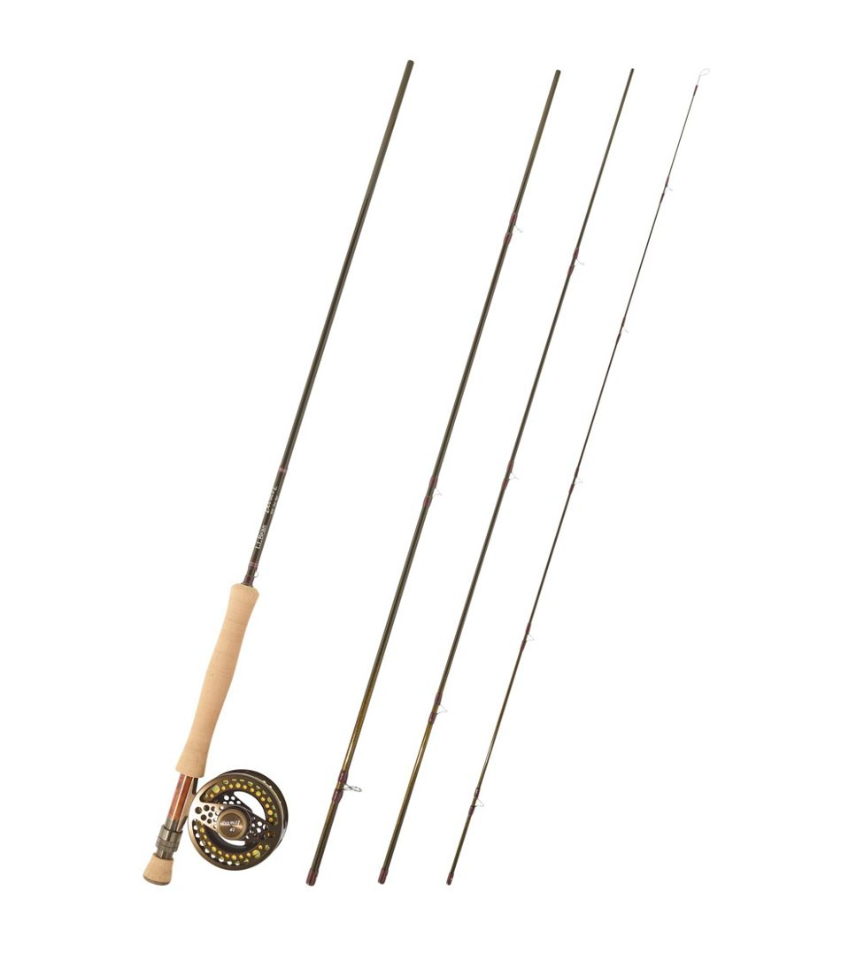 "Double L Euro Fly Rod Outfit, 10'6"" 3 wt."