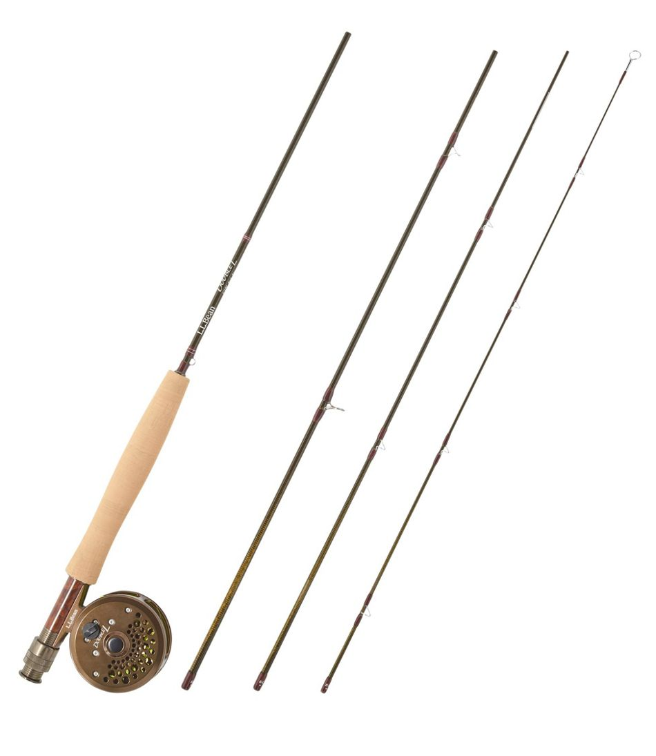 Double L Fly Rod Outfits, 3-4 wt.