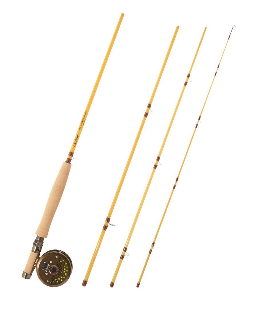 Pocketwater Glass Fly Rod Outfits