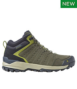 Men's Oboz Sypes Mid Leather Hiking Boots