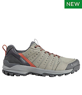 Men's Oboz Sypes Low Leather Trail Shoes
