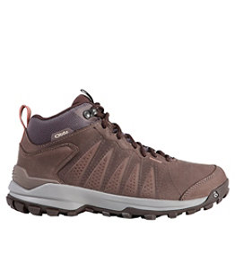 Women's Oboz Sypes Mid Leather Hiking Boots
