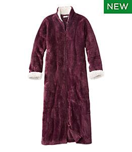 Women's Wicked Plush Robe, Full-Zip