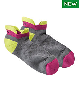 Women's Darn Tough No Show Tab Ultra-Lightweight Socks with Cushion