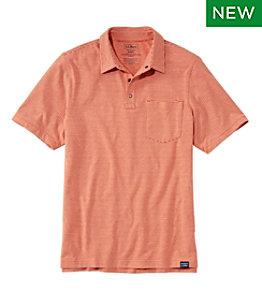 Men's Allagash Pima Cotton Blend Polo Shirt, Short-Sleeve, Stripe