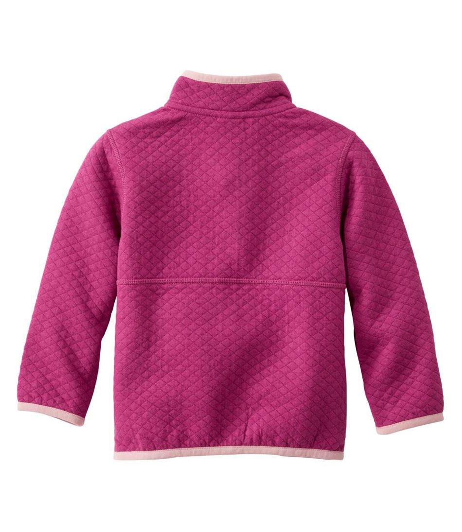Toddler's Quilted Quarter-Snap Pullover