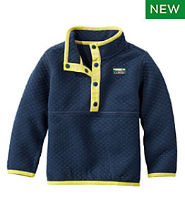 Toddlers' and Infants' Quilted Quarter-Snap Pullover
