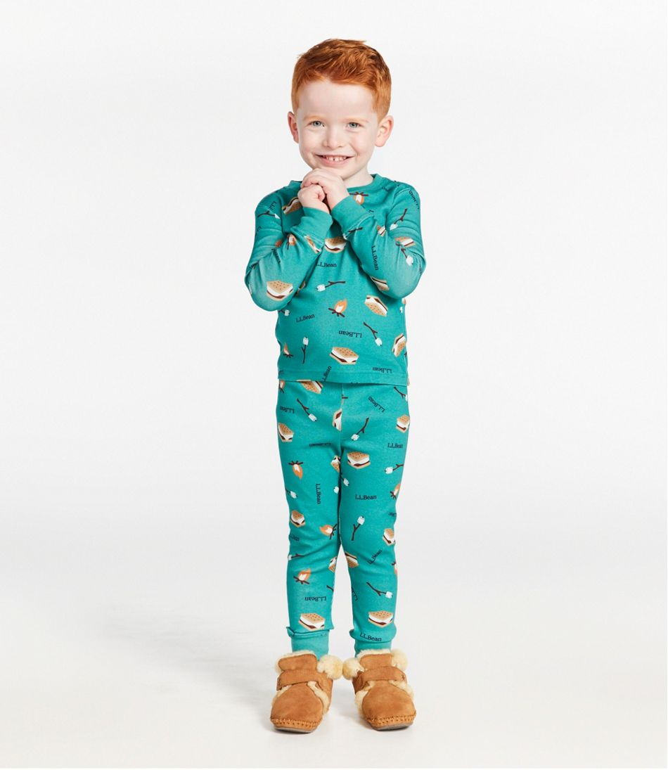 Toddlers' Organic Cotton Fitted Pajamas