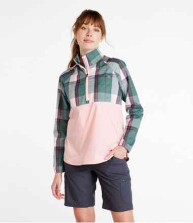 Women's SunSmart™ Shirt, Quarter-Zip Pullover Colorblock