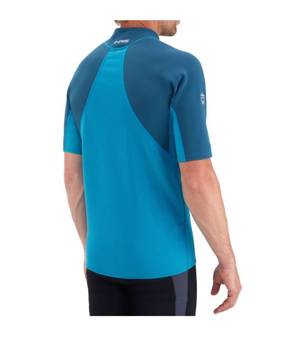 Men's NRS HydroSkin 0.5mm Shirt, Short-Sleeve