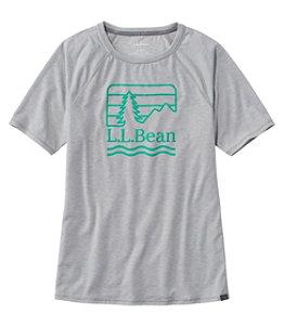 Women's Everyday SunSmart™ Tee, Crewneck Short-Sleeve, Graphic