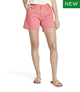 "Women's Lakewashed Chino Short 6"" Embroidery"