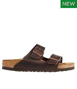 Women's Birkenstock Arizona Sandals, Leather, Classic Footbed