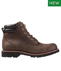 Men's Bucksport Work Boots, Plain Toe Waterproof