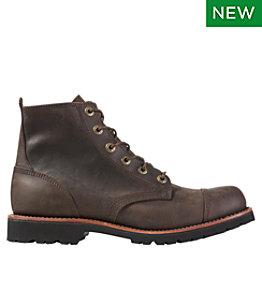 Men's Bucksport Work Boots, Cap Toe