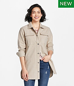 Women's Signature Chamois Shirt, Snap-Front