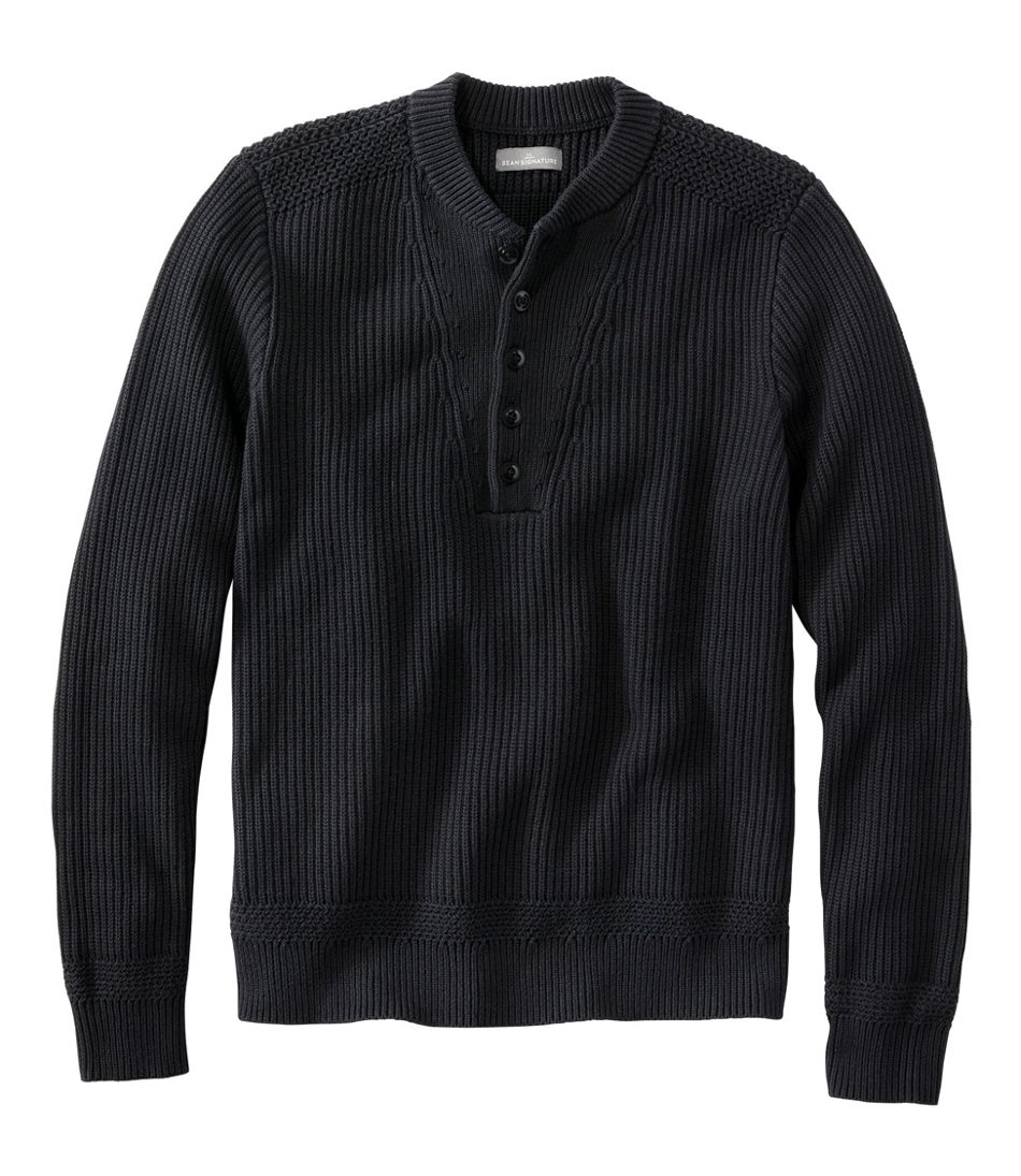 1930s Men's Clothing Mens Signature Archival Cotton Sweater  AT vintagedancer.com