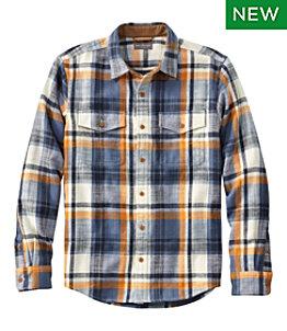 Men's Signature Heritage Textured Flannel Shirt