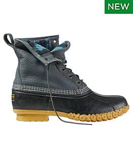 "Men's Bean Boots, 8"" Fleece-Lined PrimaLoft"