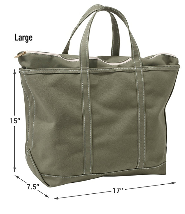 Boat and Tote Bag, Zip-Top Single-Tone Medium, Blue/Blue, large image number 3