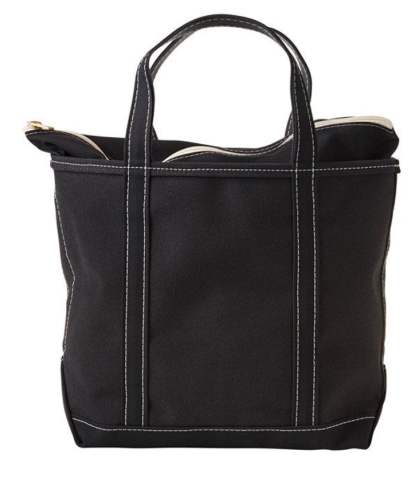 Boat and Tote Bag, Zip-Top Single-Tone Medium, Black/Black, large image number 0