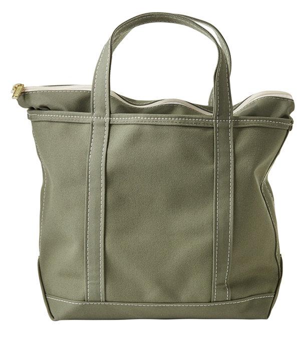 Boat and Tote Bag, Zip-Top Single-Tone Medium, Olive Grey/Olive Grey, large image number 0