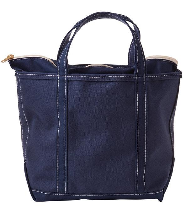 Boat and Tote Bag, Zip-Top Single-Tone Medium, Blue/Blue, large image number 0