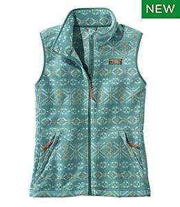 Women's Mountain Classic Fleece Vest, Print