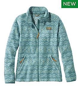 Women's Mountain Classic Fleece Jacket, Print