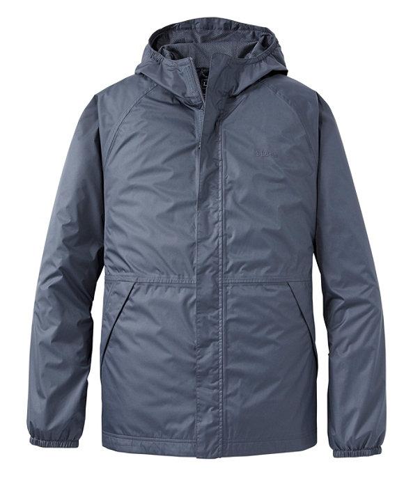 Waterproof Windbreaker Jacket, Men's Tall, , large image number 0