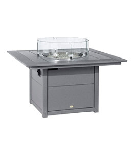 """All-Weather 42"""" Square Fire Pit Table"""
