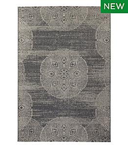 Indoor/Outdoor Medallion Rug