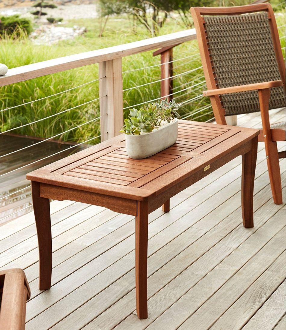 Eucalyptus Coffee Table