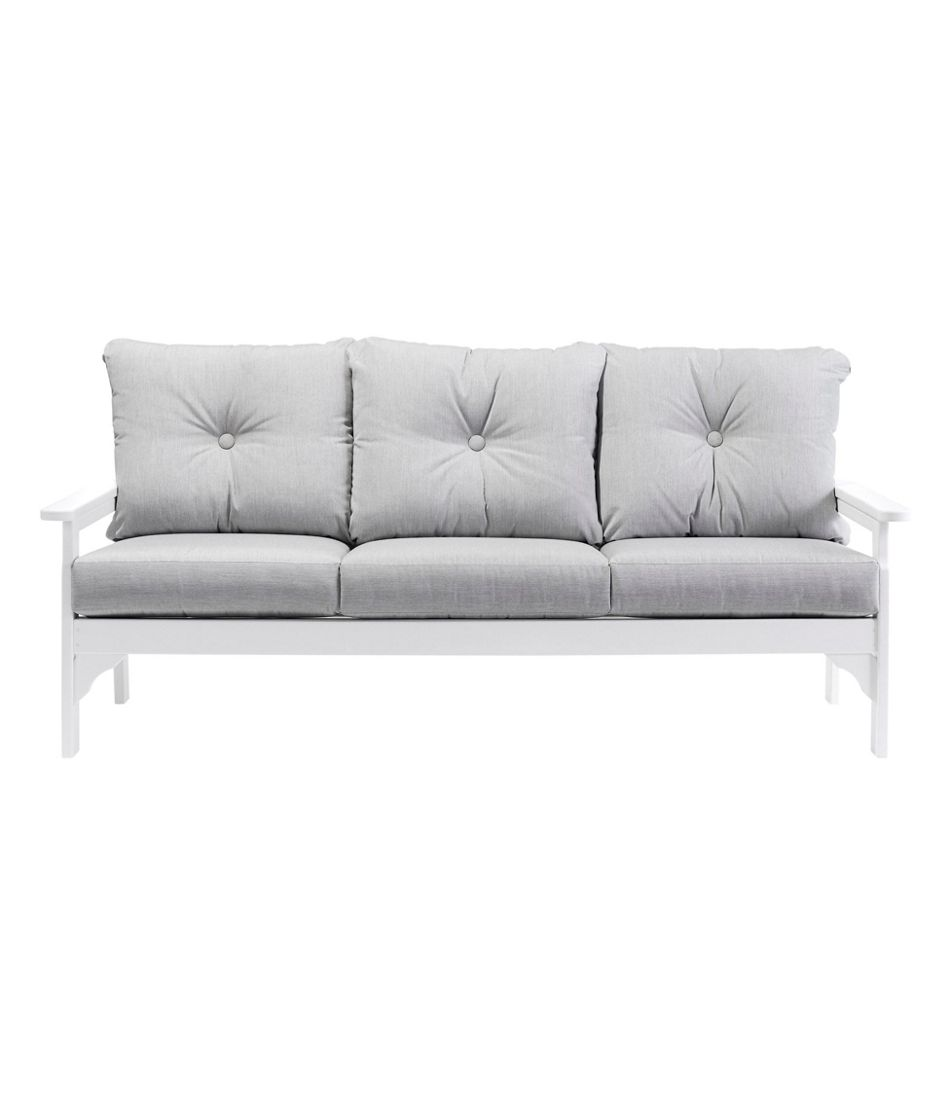 All-Weather Patio Sofa with Granite Cushion