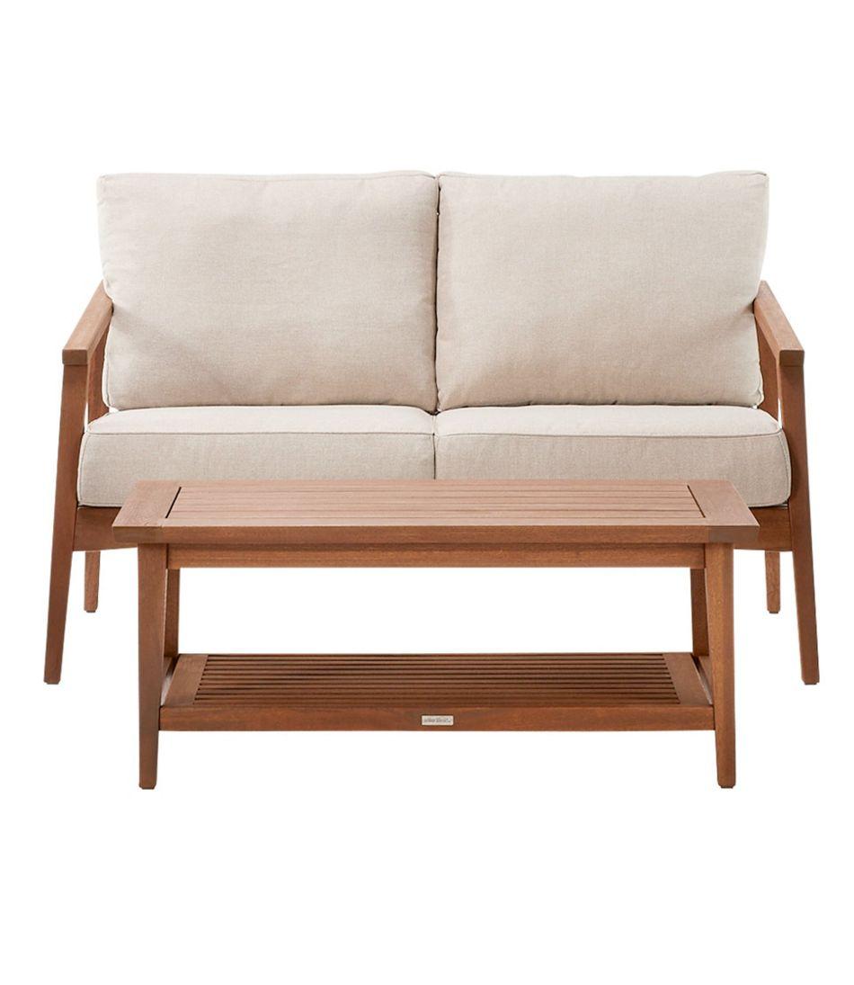 Eucalyptus 4-Piece Patio Set