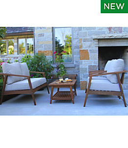 Eucalyptus 4-Piece Patio Set