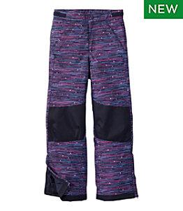 Kids' Cold Buster Pants, Print