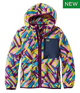 Kids' Retro Mountain Classic Fleece Jacket, Print