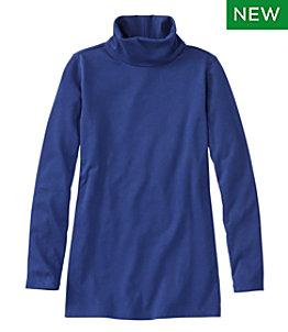 Women's L.L.Bean Tee, High-Neck Tunic Long-Sleeve