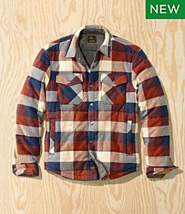 Men's L.L.Bean x Todd Snyder Quilted Flannel Shirt