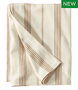 Organic Cotton Blanket, Stripe